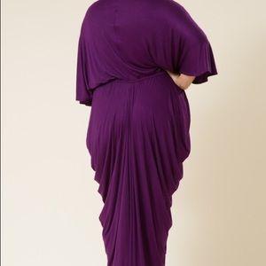 83353cebfb7b6 Love in Dresses - Plus Size Goddess Dress in Magenta